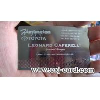 Buy cheap Stainless Steel Business Card from wholesalers
