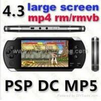 Buy cheap Hot Selling Sony 4.3 inch MP5 MP4 player/PSP PMP with AV out/camera /64 bit game from wholesalers