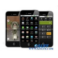Buy cheap HiPhone A8 Google Android 2.2 Quadband Dual SIM Cards GPS WiFi GSM Mobile Phone from wholesalers