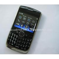 Buy cheap F020 Blackberry 8900 copy TV mobile phone wifi java two sim cards quad band product