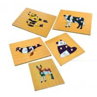 Buy cheap Figure Puzzle Board(Wooden Peg Board) from wholesalers
