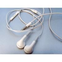 Buy cheap iPhone headset with Mic and volume control for iphone 3GS from wholesalers