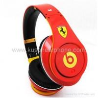 Limited Edition Ferrari Monsterly Beats By Dr Dre Studio Headphones