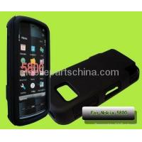 Buy cheap silicone with pc hard cover for nokia 5800 nok-5800 from wholesalers