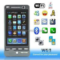 Buy cheap Wg3 Wifi TV Java bluetooth mp3 mp4 google G3 map mobile phone FCC and CE approve Wg3 from wholesalers