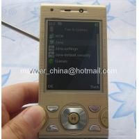 Buy cheap W995 Sony Ericsson TV mobile phone Quad band dual sim card Java colourlight from wholesalers