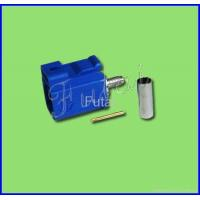 Buy cheap Blue Fakra Male Crimp for RG174 Connector-Fakra connector from wholesalers