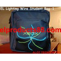 Buy cheap EL Glow Wire Tshirt Panel Decoration Lighting Up Student Bag ( HNR 0106 ) HNR 0106 from wholesalers