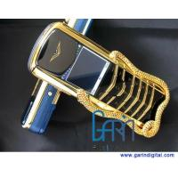 Buy cheap Limited edition Signature Cobra gold luxury mobile phone, golden snake, gold from wholesalers