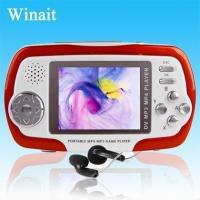 Buy cheap Winait's 2.4TFT games mp4 player from wholesalers