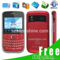 Buy cheap Free Shipping S3 3.0 QWERTY 4-SIM 2 TF Slot TV FM Bar Mobile Cell Phone from wholesalers