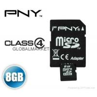 Buy cheap PNY MicroSDHC 4 GB MicroSD 4G Memory Card Micro SD SDHC 4GB Class 4 from wholesalers