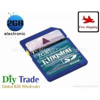 Buy cheap wholesale 2GB Kingston secure digital memory card class 4 sd card from wholesalers