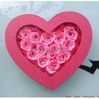 Buy cheap 30pcs rose soap in a heart shape gift box from wholesalers