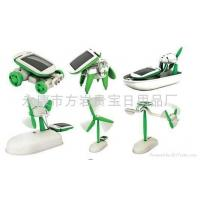 Novelty Gifts solar toy-THE 6 IN 1 EDUCATIONAL SOLAR KIT