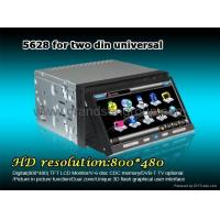 Buy cheap 7 Two DIN DVD digital Touch screen DVD/GPS Player Bluetooth GS-5628 from wholesalers