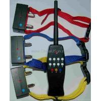 Buy cheap 8 LEVEL RemoteCONTROL TRAINING SHOCK COLLAR with 3 dogs from wholesalers