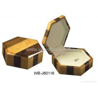 Buy cheap Simple Solid Wood Jewelry Box WB-J60116 from wholesalers