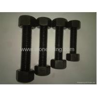 Buy cheap A193 B7 stud bolts with A194 2H nuts from wholesalers