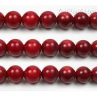 Buy cheap Red coral, 12mm round, natural gemstone bead craft supplies from wholesalers