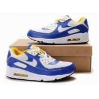 Buy cheap New Nike Air Max Mens White Blue Black Shoes from wholesalers
