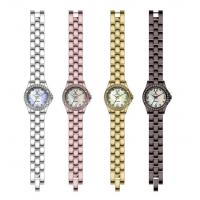 Buy cheap Ms. Tsai steel watch with a stone. Chinese production. cheap wholesale from wholesalers