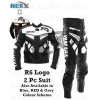 Buy cheap Motorbike & Fashion Garments Yamaha R6 Red Motorcycle Leather Suit from wholesalers