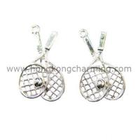 China Tennis racket charms on sale