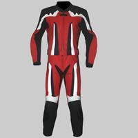 Buy cheap M-112-221Two Piece Leather Suit from wholesalers