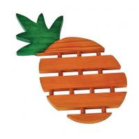 Buy cheap Wooden Crafts Wooden Pad in Pineapple Shape from wholesalers