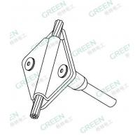 Buy cheap Front pressure plate for Connecting 70mm2 copper cable(DZ4208) from wholesalers