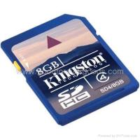 Buy cheap Kingston 8GB SDHC Class 4 Secure Digital Memory Card from wholesalers