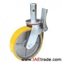 Buy cheap 6 inch PU Scaffold casters - SCAFA15005013Y from wholesalers