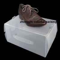Buy cheap Shoe storage boxes PP shoe boxes for mens shoes from wholesalers