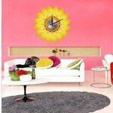 Buy cheap Vinyl Wall Sticker Clock 10A002 Sunflower Wall Decoration from wholesalers