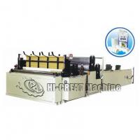 Buy cheap Automatic High-speed Rewinding and Perforating Toilet Paper Machine from wholesalers