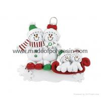 Buy cheap Ornament Snowman Sled-Resin Christmas Gifts from wholesalers