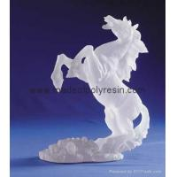 Buy cheap Frosted horse crafts polyresin frosted gifts frost arts from wholesalers