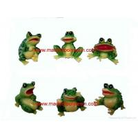 Buy cheap polyresin frog from wholesalers