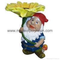 Buy cheap garden elf ornament polyresin elf statue from wholesalers
