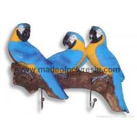 Buy cheap Polyresin/polystone parrots wall hooks from wholesalers