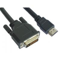 Buy cheap DVI-HDMI Convert Cable DVI24+1 Male to HDMI 19Pin Male from wholesalers