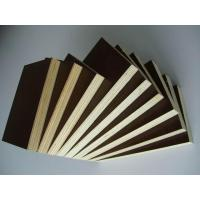 Buy cheap 125/40g Imported Brownish Color Film Faced Plywood from wholesalers