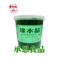 Buy cheap 1065 Green Tea Flavor Crystal Jelly 3.3kg product