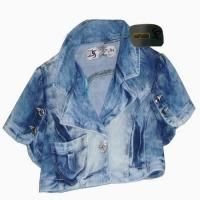 Buy cheap lady denim jacket from wholesalers