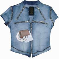 Buy cheap fashion lady denim jacket from wholesalers