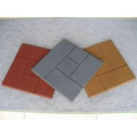 Buy cheap Rubber Tiles or Pavers from wholesalers