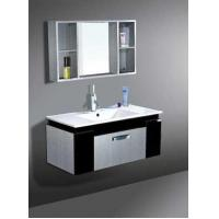 Buy cheap PU-F10046 P Style - Stainless Steel Bathroom Mirror Cabinet Units from wholesalers