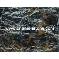 Buy cheap Black Golden Flower Marble from wholesalers