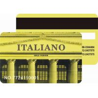 Buy cheap Magnetic stripe card from wholesalers